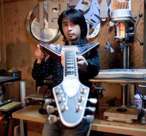 ihush guitars-portrait photo