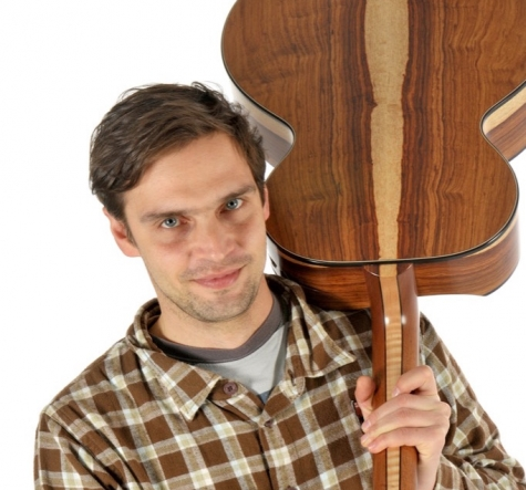 prohaszka guitars-portrait photo